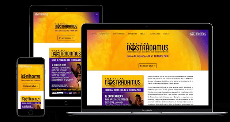 Festival Nostradamus - MapWeb