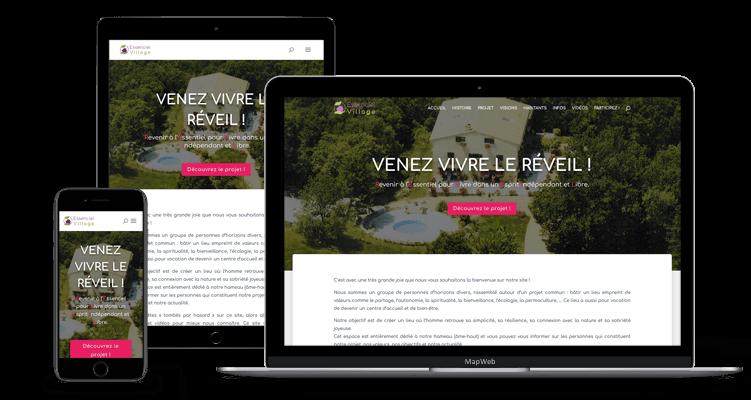 Essenciel Village - MapWeb